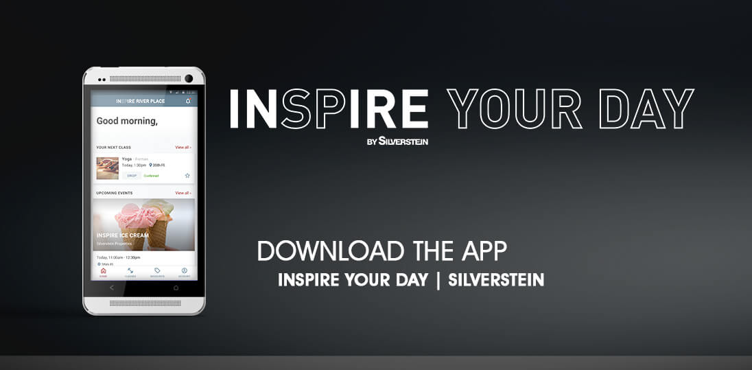 Inspire your day - download the app - Silverstein